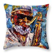 Pharoah Throw Pillow