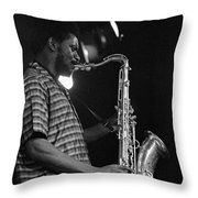 Pharoah Sanders 2 Throw Pillow