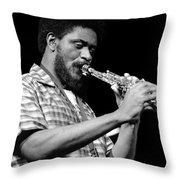 Pharoah Sanders 3 Throw Pillow