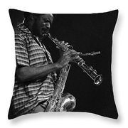 Pharoah Sanders 4 Throw Pillow