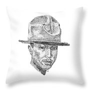 Pharrell Throw Pillow