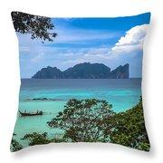 Phi Phi Islands Throw Pillow