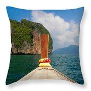 Phi Phi Leh Throw Pillow