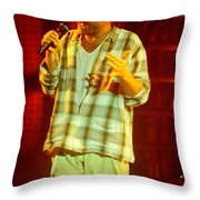 Phil Collins-0872 Throw Pillow