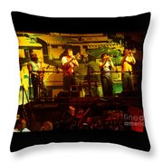 Phil Collins-horns-0906 Throw Pillow