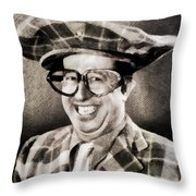 Phil Silvers, Comedy Legend Throw Pillow