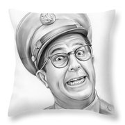 Phil Silvers Throw Pillow