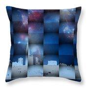 Philadelphia 3d Throw Pillow