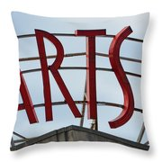 Philadelphia Arts Bank Throw Pillow