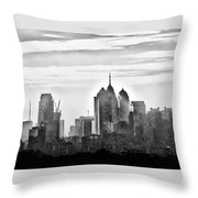 Philadelphia Throw Pillow