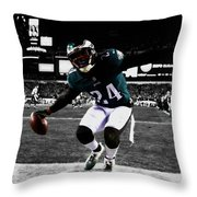 Philadelphia Eagles 5a Throw Pillow