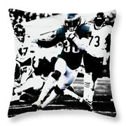 Philadelphia Eagles 5b Throw Pillow