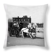 Philadelphia Fire Department Engine - C 1905 Throw Pillow
