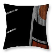 Philadelphia Flyers Wood Fence Throw Pillow
