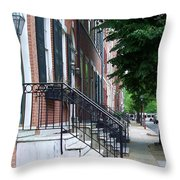 Philadelphia Neighborhood Throw Pillow