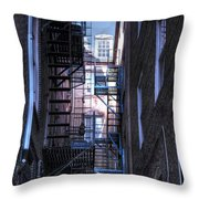 Philadelphia Neighbors Throw Pillow