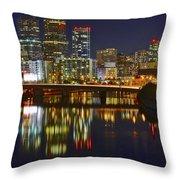 Philadelphia Pa River View Throw Pillow