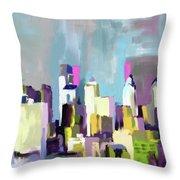 Philadelphia Skyline 650 1 Throw Pillow