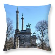Philadelphia - The Smith Memorial Arch Throw Pillow
