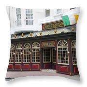 Philadelphia's Famous Irish Pub Throw Pillow