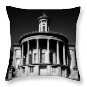 Philadelphia's Merchant Exchange Building Throw Pillow