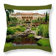 Philbrook Museum Gardens Throw Pillow