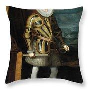Philip IIi Throw Pillow