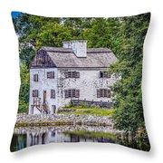 Philipsburg Manor House  Throw Pillow