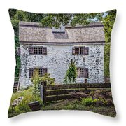 Philipsburg Manor House - Thru The Woods Throw Pillow