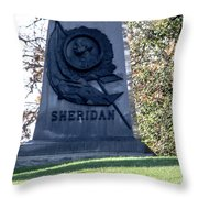 Phillip Henry Sheridan Throw Pillow