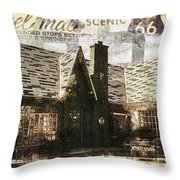 Phillips 66 No 2 Throw Pillow