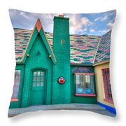 Phillips 66 Throw Pillow