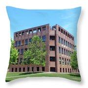 Phillips Exeter Academy Louis Kahn Library Throw Pillow