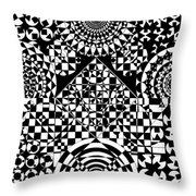 Philosophers Kaleidoscope Throw Pillow