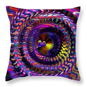 Philosophical Rainbow Throw Pillow