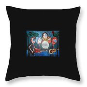 Phish At Big Cypress Throw Pillow
