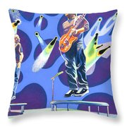 Phish Tramps Throw Pillow