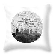 Phoenix Arizona 11rd Throw Pillow