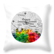 Phoenix Arizona 12rd Throw Pillow