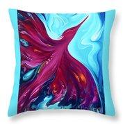 Phoenix Creation Rising Throw Pillow