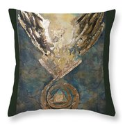Phoenix From The Stone Throw Pillow
