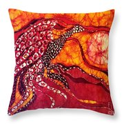 Phoenix Sweeps The Earth Throw Pillow