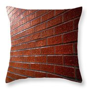 Photo Graphics - Brick Wall Eruption Throw Pillow