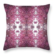 Photo 0800 Fractal D2 Autumn Tree Leaves Throw Pillow