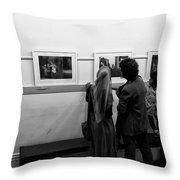 Photo Critics Throw Pillow