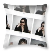 Photo Shoot Throw Pillow