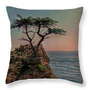 Photogenic Tree Throw Pillow
