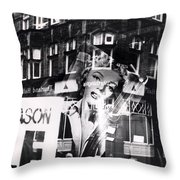 Photograph Of Marilyn Throw Pillow