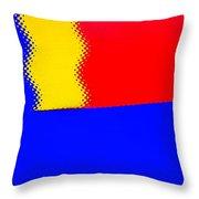 New Flag Throw Pillow