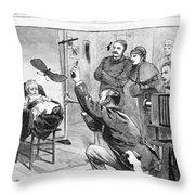 Photographer, 1882 Throw Pillow
